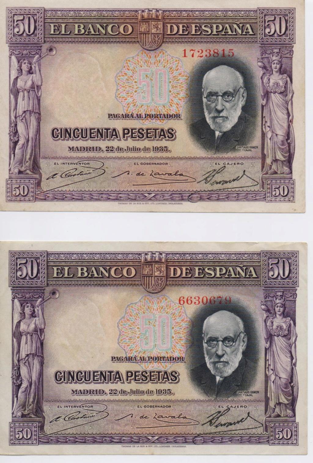 """50 Pesetas 1935 """"Ramón y Cajal"""" S/S & A - Página 3 00117"""