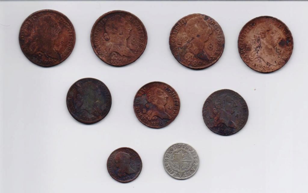 Varios valores de maravedies de Carlos IV 00211