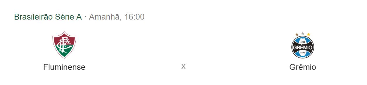 (Derrota) Fluminense x Grêmio   29/09/2019 às 16:00    Maracanã - Rio de Janeiro/RJ Flucxg10
