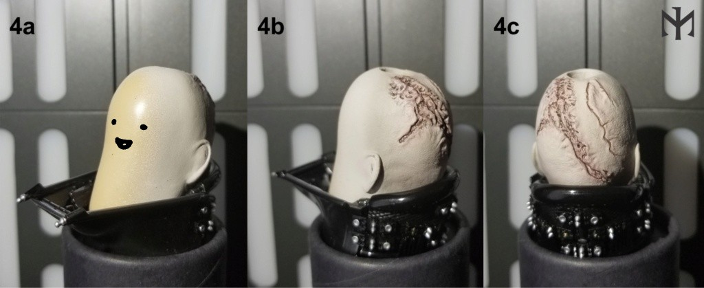 HotToys - STAR WARS New customizing Hot Toys ESB Vader head Htdves10