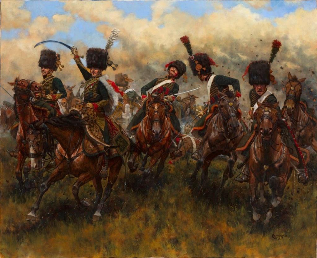 Les chasseurs à cheval de la Garde - Page 2 Chasse11