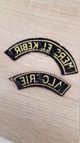Insignes Mers-el-Kebir 15578511