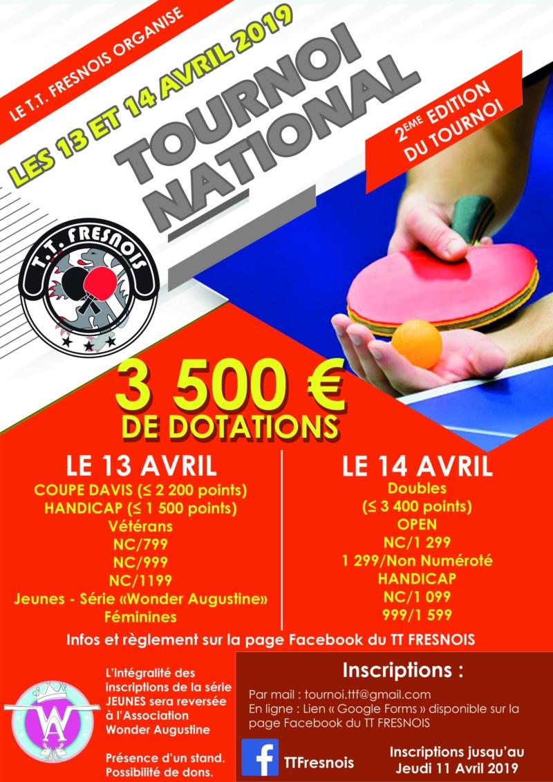 Tournoi National du TT FRESNOIS - 13 ET 14 AVRIL 2019 Affich12