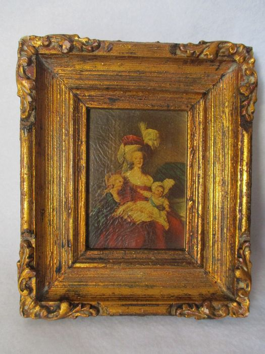 Portrait Marie Antoinette et ses enfants par Elisabeth Louise Vigée Lebrun - Page 2 Zfer311