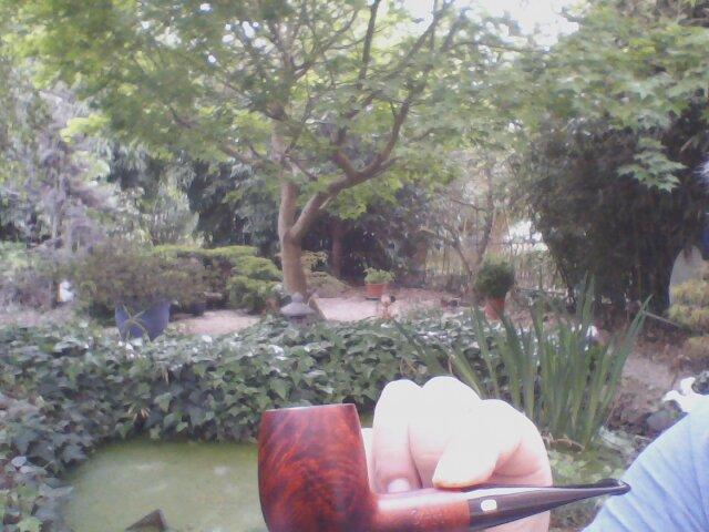 1er Mai 19, du muguet et de la fumée. Webcam17