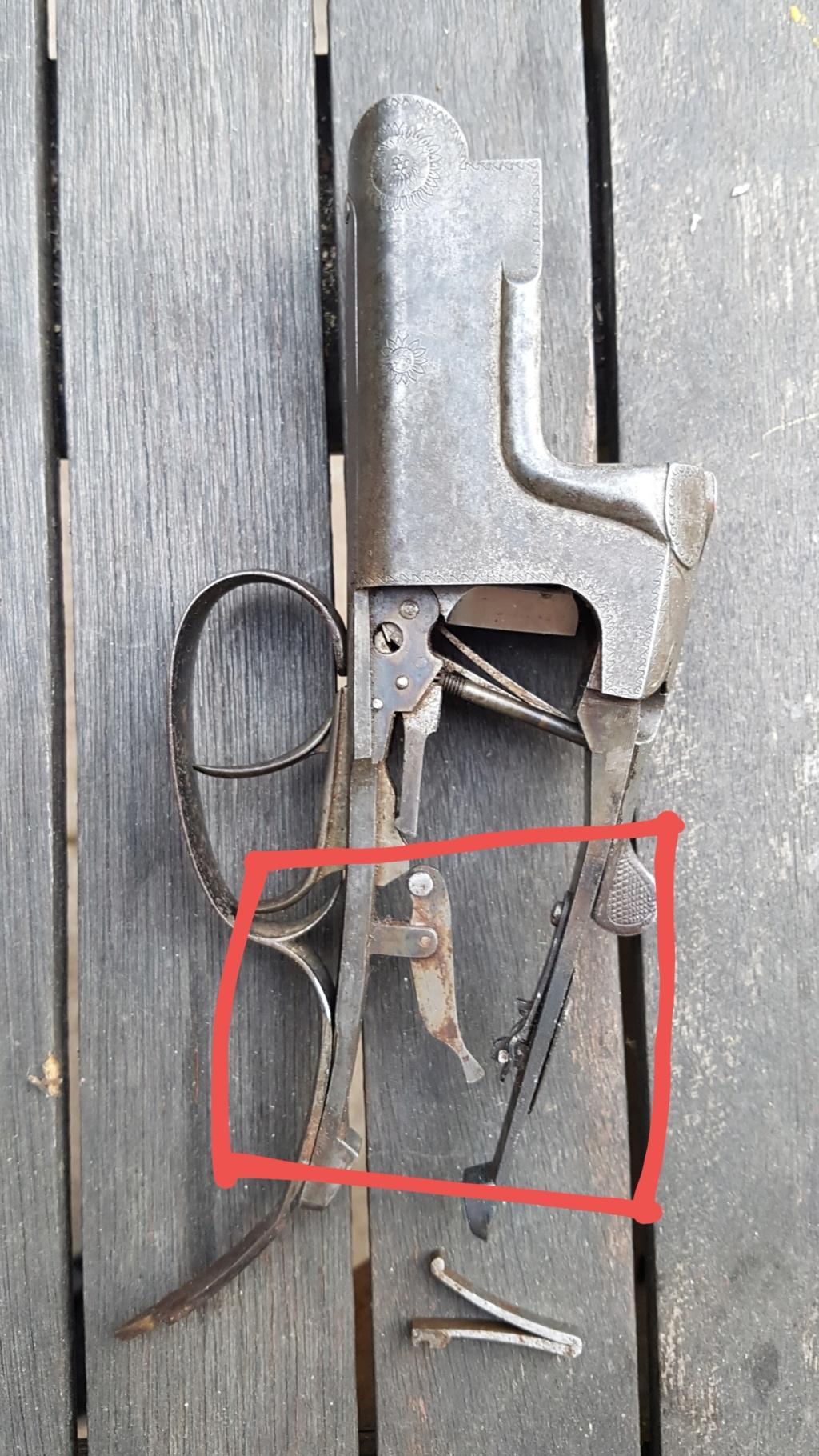 Vieux fusil à restaurer 20190413