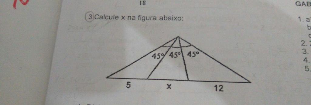 Calcule x Geoome10