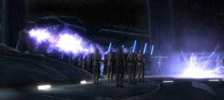 Luke Skywalker vs Valkorion Screen24