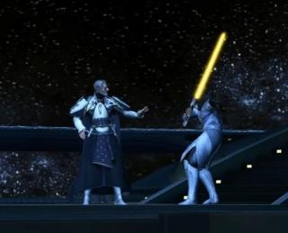Luke Skywalker vs Valkorion Screen26