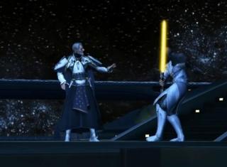 Luke Skywalker vs Valkorion Screen27