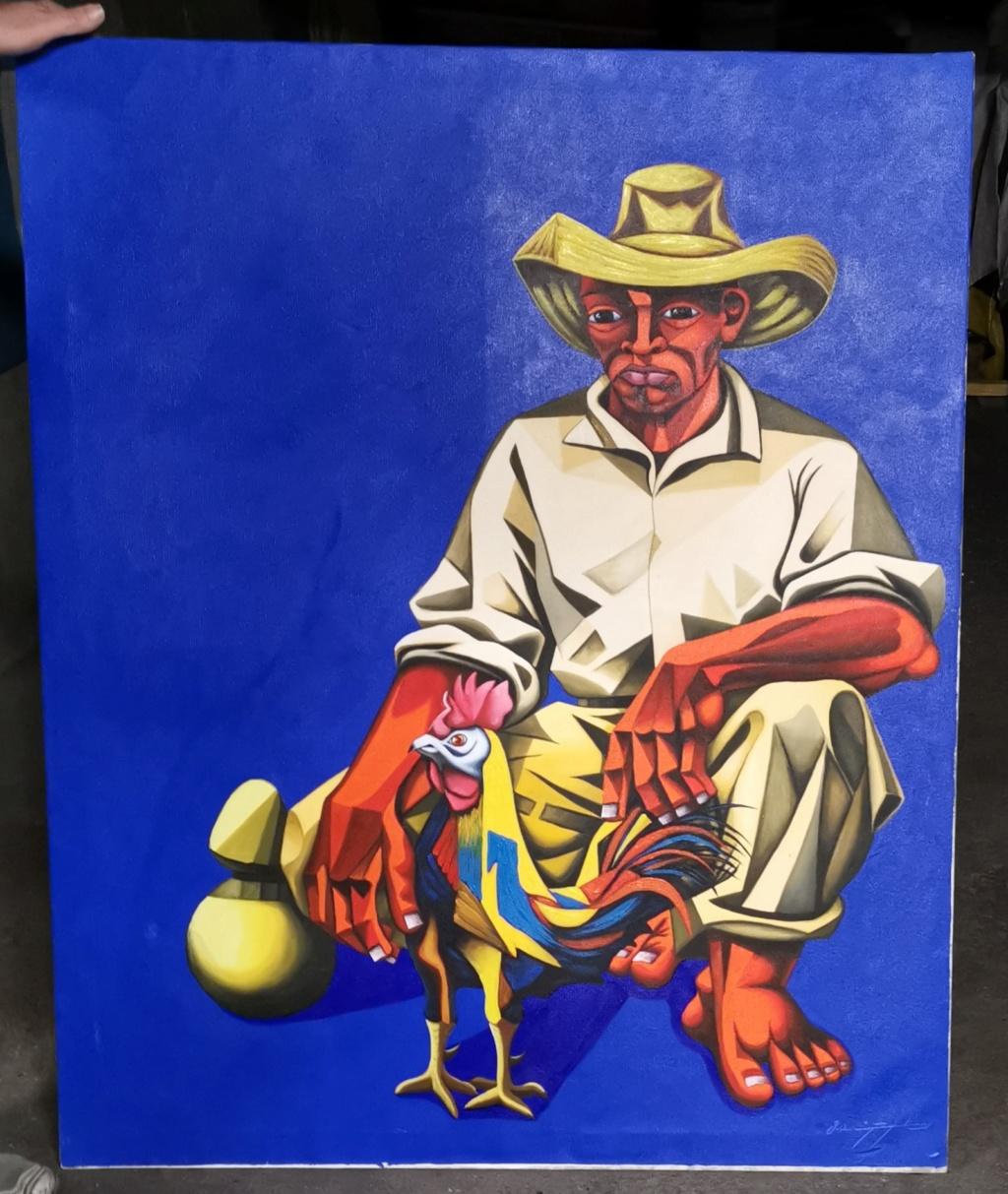 Bonjour aide pour identifier un peintre cubiste abstrait svp Img_2012