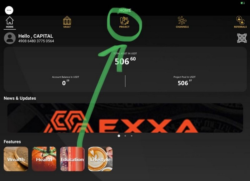 EXXA инвестиционный проект 210