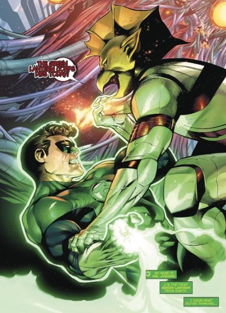 Outside (Hal Jordan / Carol Ferris) Green-10