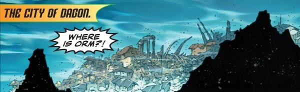 The lost people of Atlantis (Orm/ Mera) Rco00322