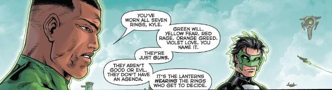 Green Lantern's light, Sinestro's might Rco01014