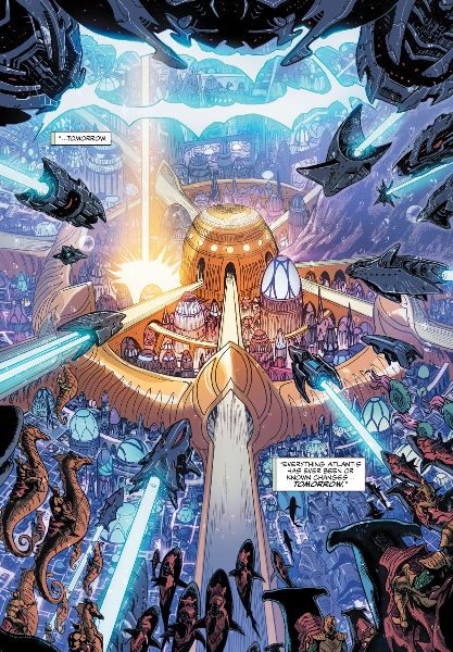 The lost people of Atlantis (Orm/ Mera) Rco02313