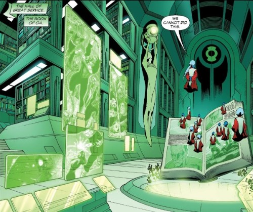 Outside (Hal Jordan / Carol Ferris) Rco05612
