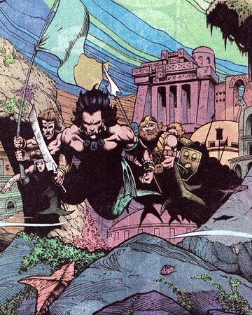 The lost people of Atlantis (Orm/ Mera) Triton11