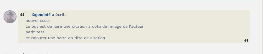*RESOLU*[PHPBB3] Une barre de titre pour les citation avec la photo du profil 1104