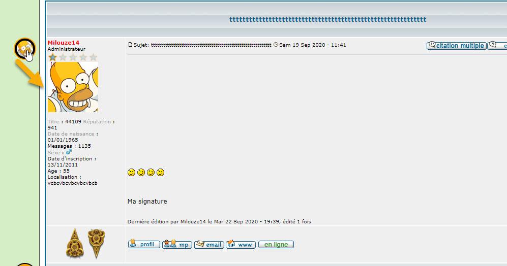 [PHPBB2]Afficher/Masquer le profil avec miniature de l'avatar  216