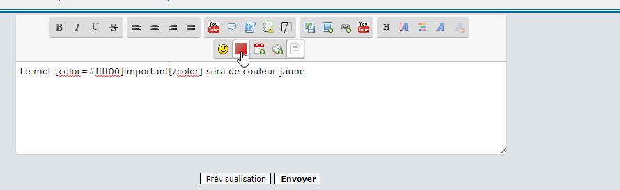 *RESOLU*[PHPBB2] Surligner des mots en couleur fluo. 244
