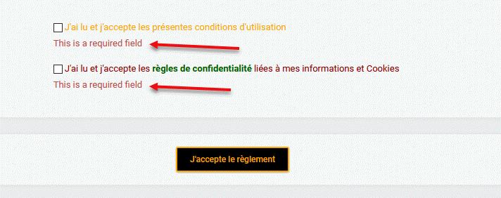 [Modernbb]Acception des conditions et texte d'erreur en Anglais 287