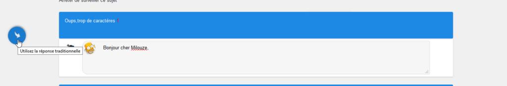 [AWESOMEBB]Ajouter une limite de caractères à la réponse rapide.. 313