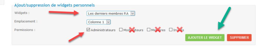 [TOUTES VERSIONS]Afficher les derniers membres enregistrés dans un widget (ADMIN) 413