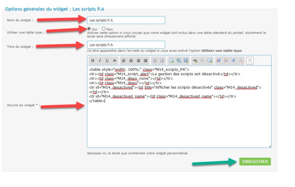 [TOUTES VERSIONS]Afficher les scripts disponibles et désactivés dans un widget (ADMIN) 512