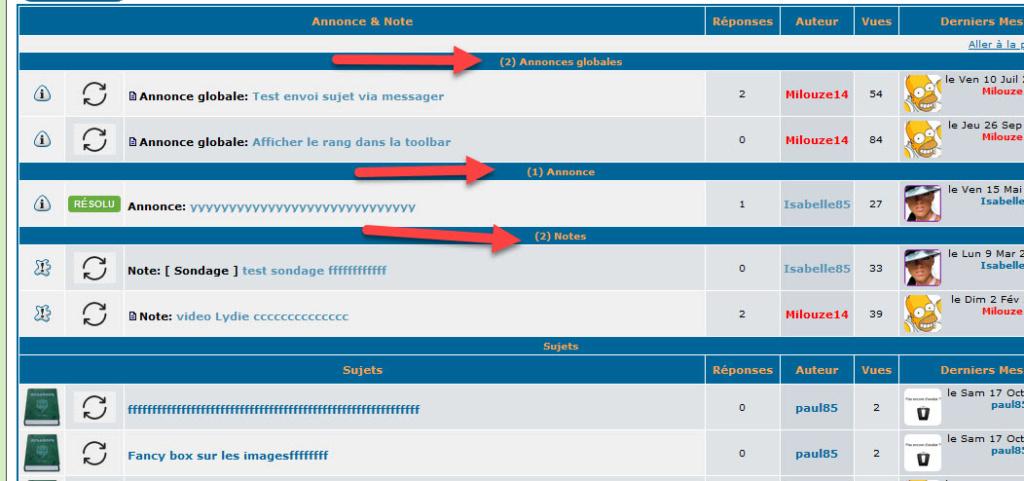 [PHPBB2]Séparer les annonces globales/annonces/notes Tablea11