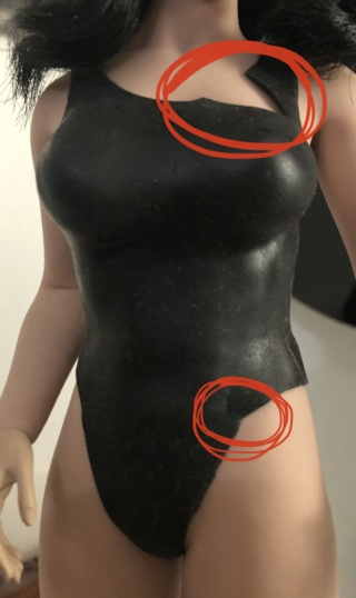 body - NEW PRODUCT: TBLeague: 1/6 Female Super-Flexible Seamless Body S34 & S35 (with head sculpt) & 34A & 34A (without head sculpt) Img_7411