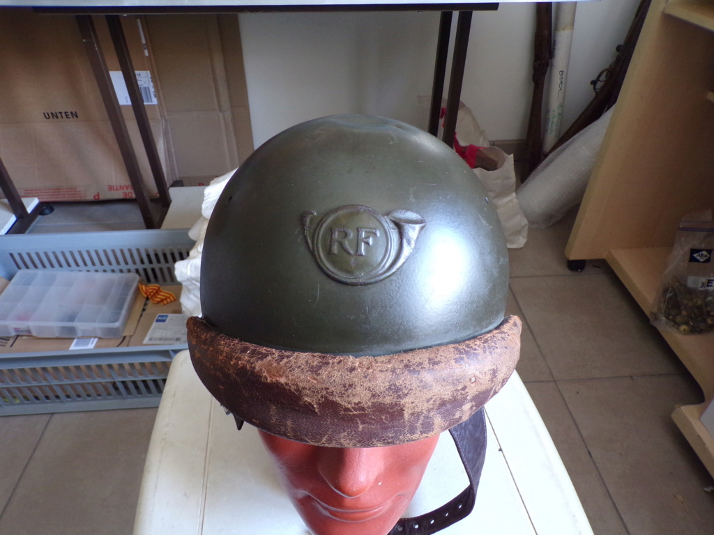 Casque Adrian mdl 35/40 Chasseur 101_1910