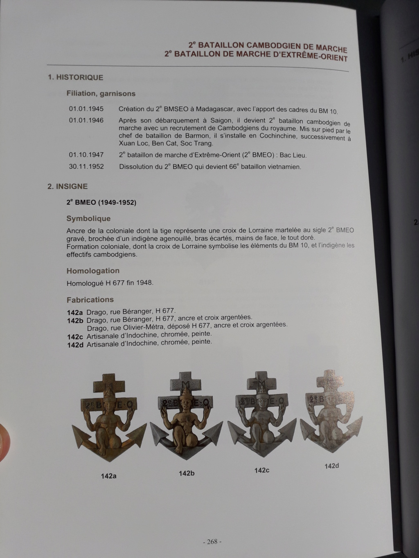 Insigne pucelle Indochine  FR. THA CHET HON 20200717