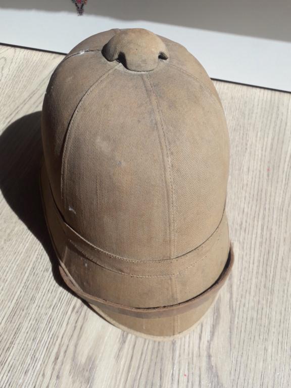 Jugulaire casque coloniale 1886 20210917