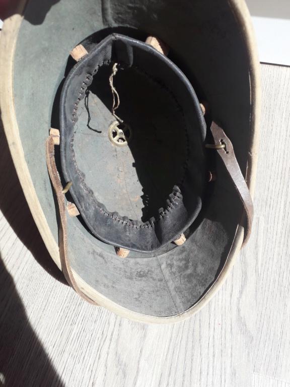 Jugulaire casque coloniale 1886 20210918