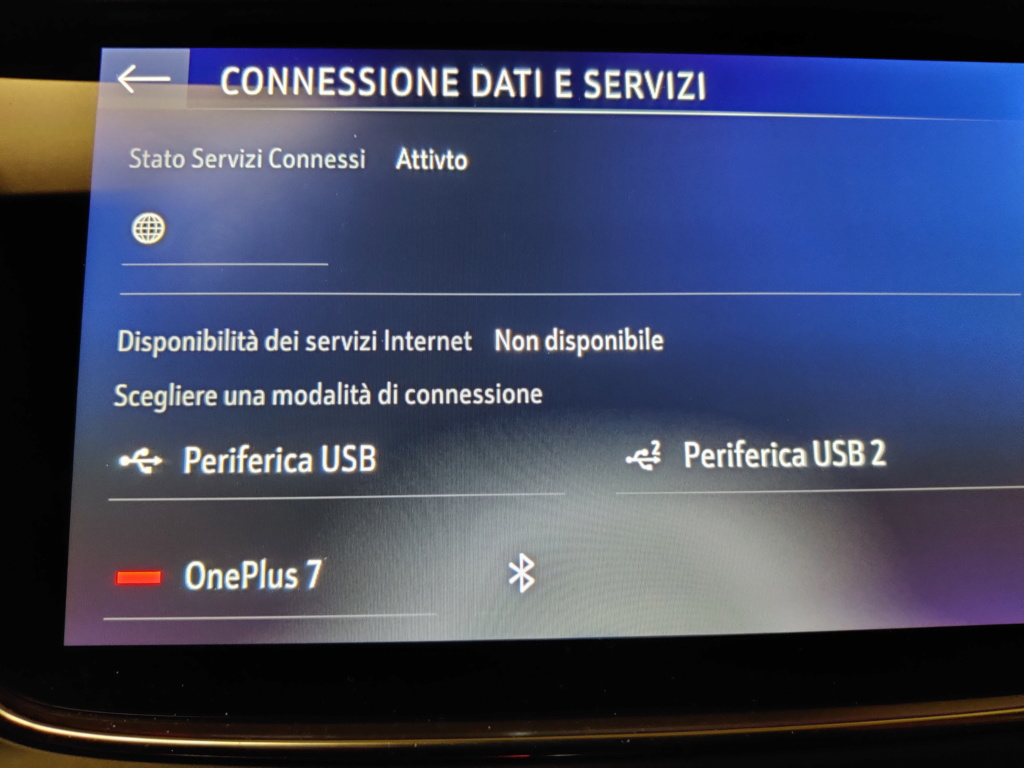 connessione dati bluetooth Connes11