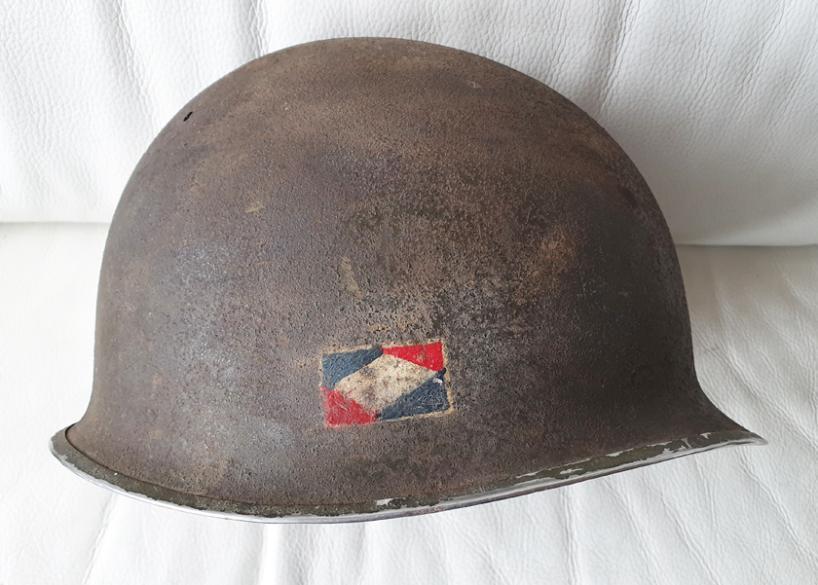 Casque US 1er Armée  5ab6e610
