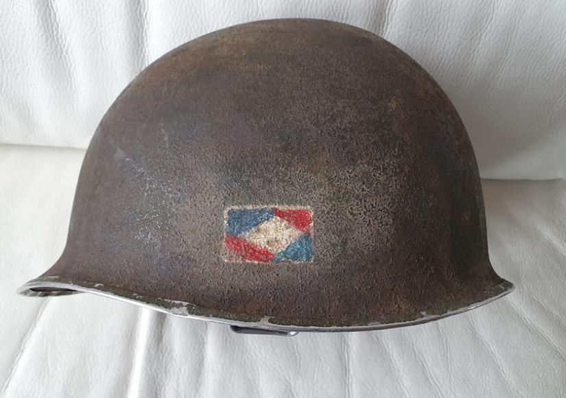 Casque US 1er Armée  7aff5910