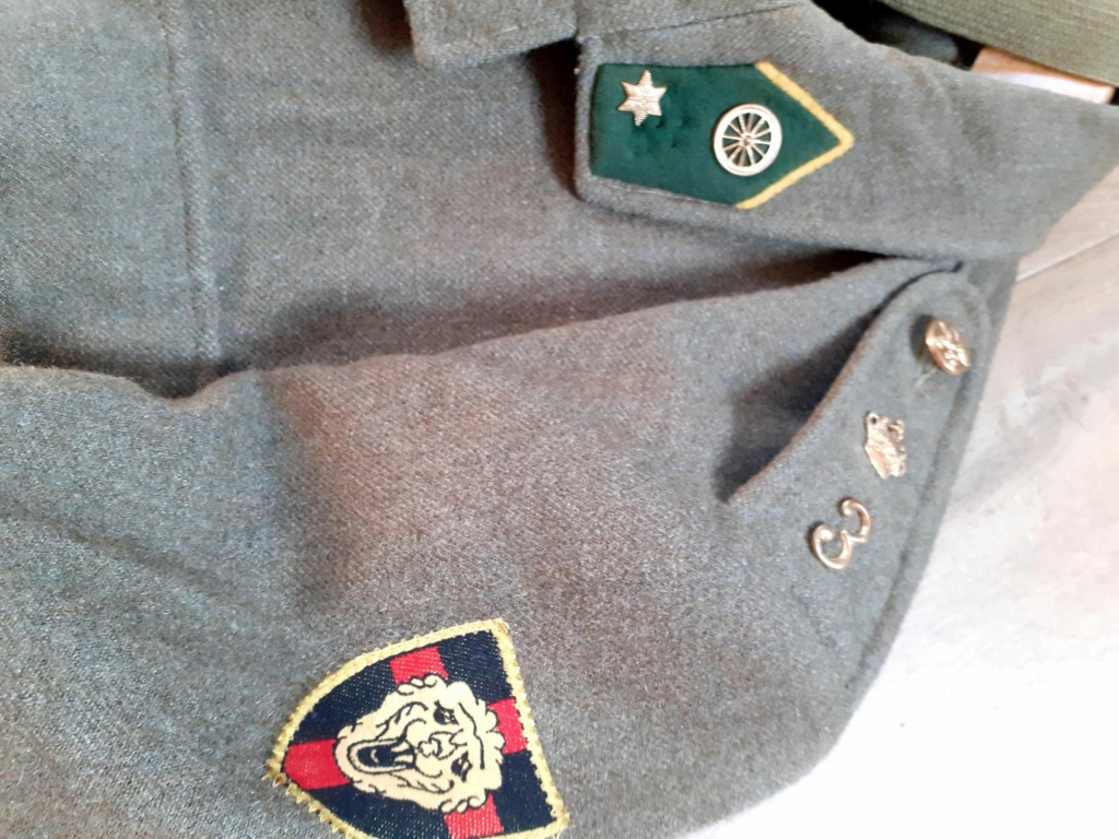 The battledress in use by the Belgian army (1945-1979) 12413910
