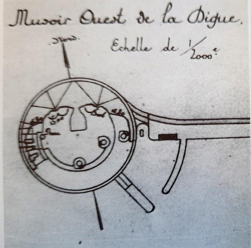 Documentation et modélisation du Fort de L'Ouest, grande rade, Cherbourg 20210212