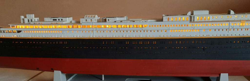 Montage Titanic Trumpeter 1/200 - Page 10 20210324