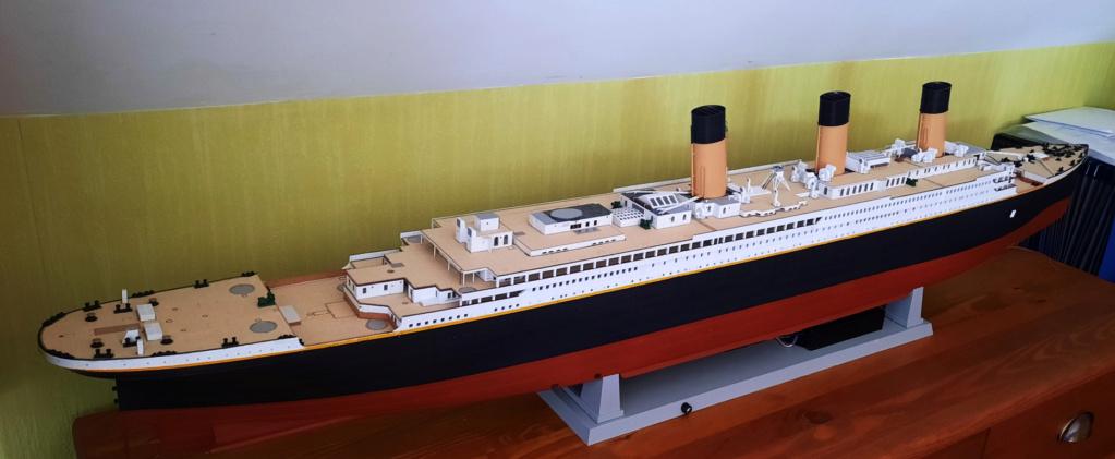 RMS Titanic (Trumpeter 1/200°) de LE BARBENCHON - Page 15 20210816