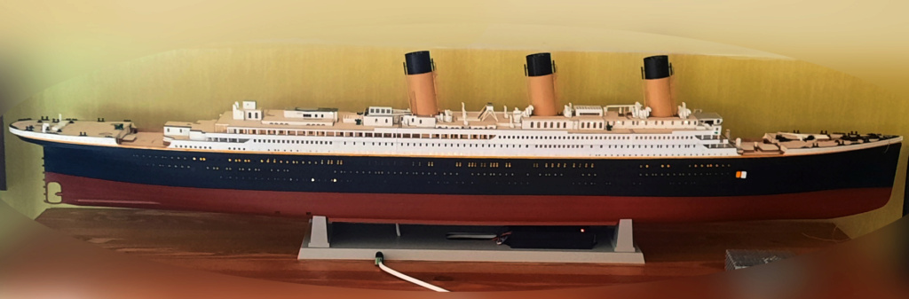 RMS Titanic (Trumpeter 1/200°) de LE BARBENCHON - Page 15 20210817