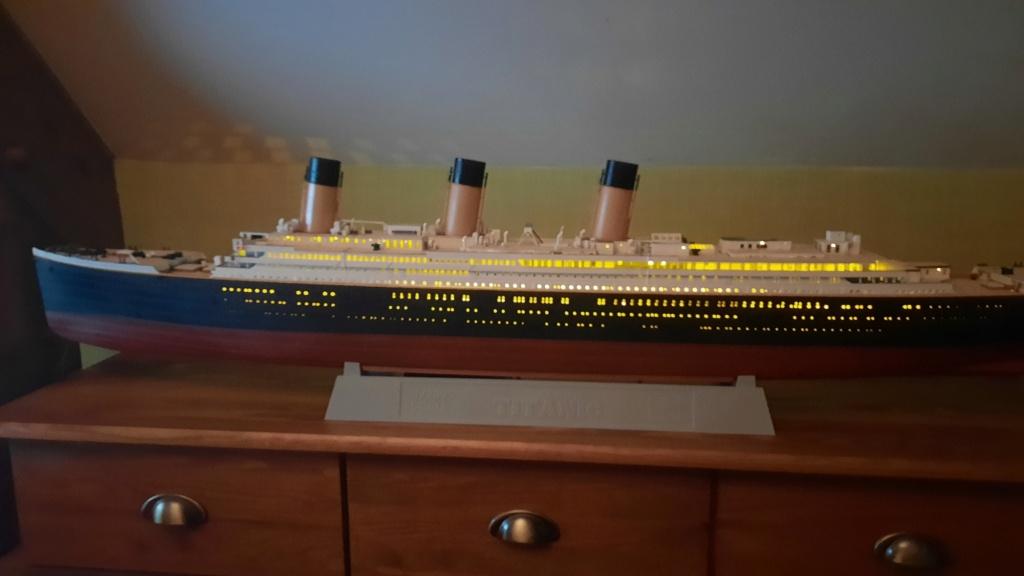 RMS Titanic (Trumpeter 1/200°) de LE BARBENCHON - Page 15 20210819