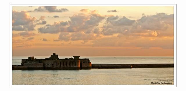 Documentation et modélisation du Fort de L'Ouest, grande rade, Cherbourg Croisi11