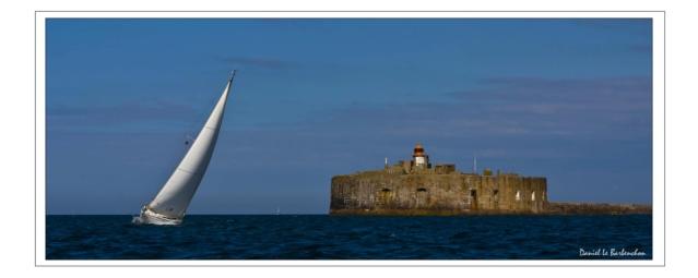 Documentation et modélisation du Fort de L'Ouest, grande rade, Cherbourg Rade_d10