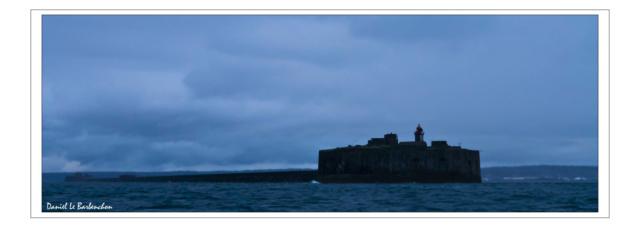 Documentation et modélisation du Fort de L'Ouest, grande rade, Cherbourg Rade_d11