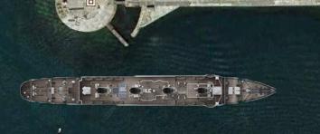 Documentation et modélisation du Fort de L'Ouest, grande rade, Cherbourg Titani11