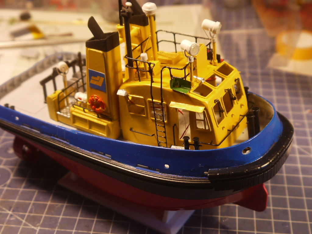 """""""Smit"""" Pacific Tugboat RC 1:87 P1090510"""