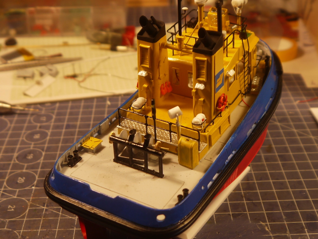 """""""Smit"""" Pacific Tugboat RC 1:87 P1090511"""